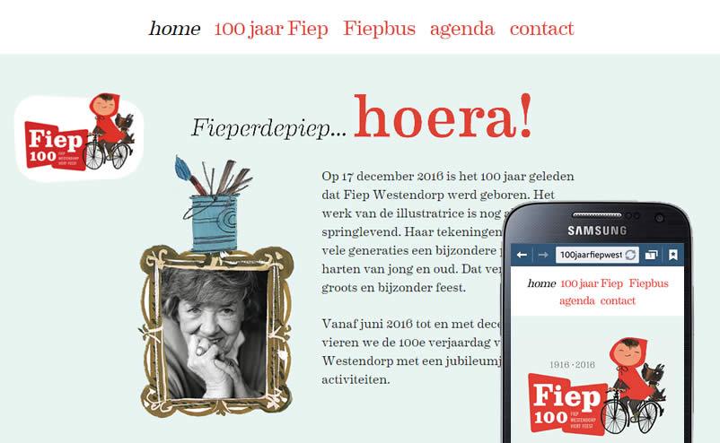 100 jaar Fiep Westendorp