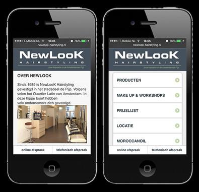 webapp laten maken door-othersites voorbeeld newlook