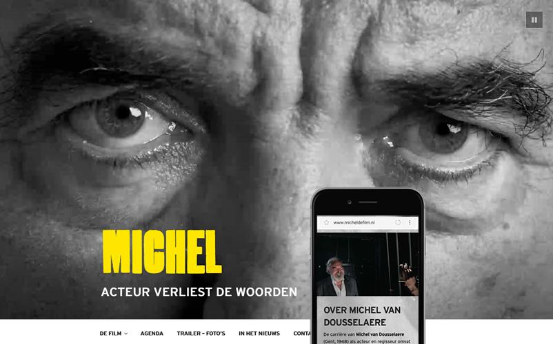 Michel de Film, acteur verliest de woorden