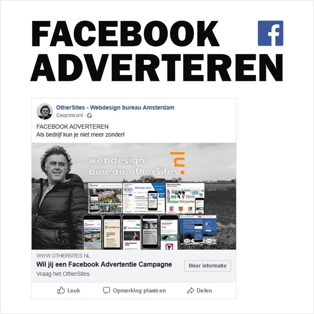 facebook adverteren webdesign bureau amsterdam
