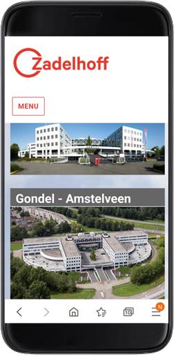 layout mobiel zadelhoff beheer voorbeeld
